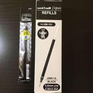 Uniball Signo Ink Pens Refills