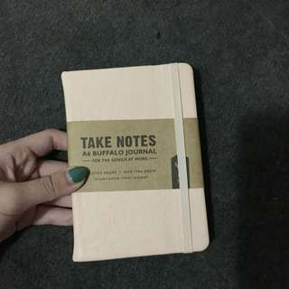 Typo Note Book (cream) (small)