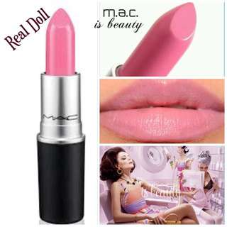 全新台灣專櫃正品 M.A.C. MAC 水漾潤澤唇膏3g(#REAL DOLL)~超人氣色號~盒裝~熱銷色