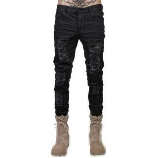 Others UK Destroyed Jeans