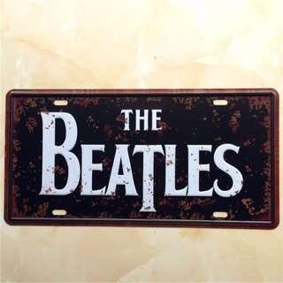 復古鐵牌-披頭4 THE BEATLES