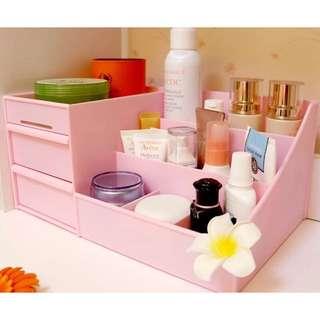 糖果系收納盒 桌面收納 化妝品收納😃紫色現貨1