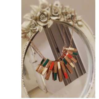Casual wear necklace.