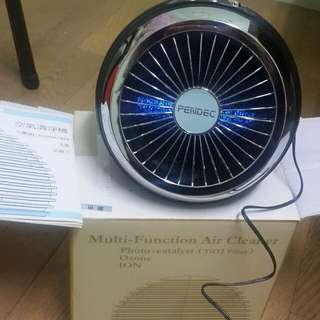 {全新}PENDEC空氣清淨機(光觸媒 活氧 負離子)
