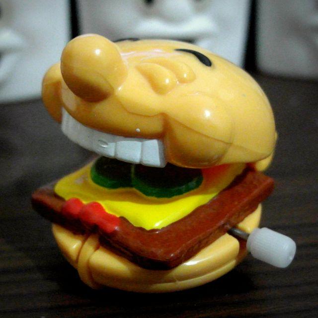 90年代 稀有 溫蒂漢堡玩具