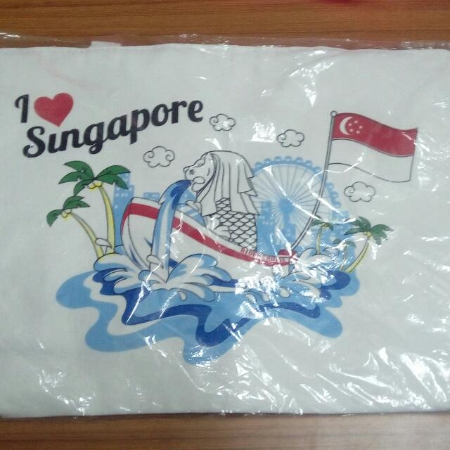 【可換物】全新✨新加坡帆布手提袋(包)