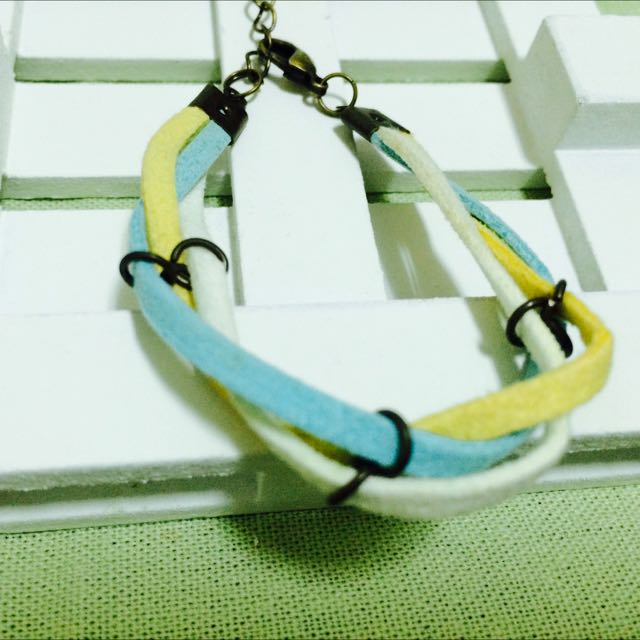 ❤️手創。  氣質款韓國絨手環-手鍊