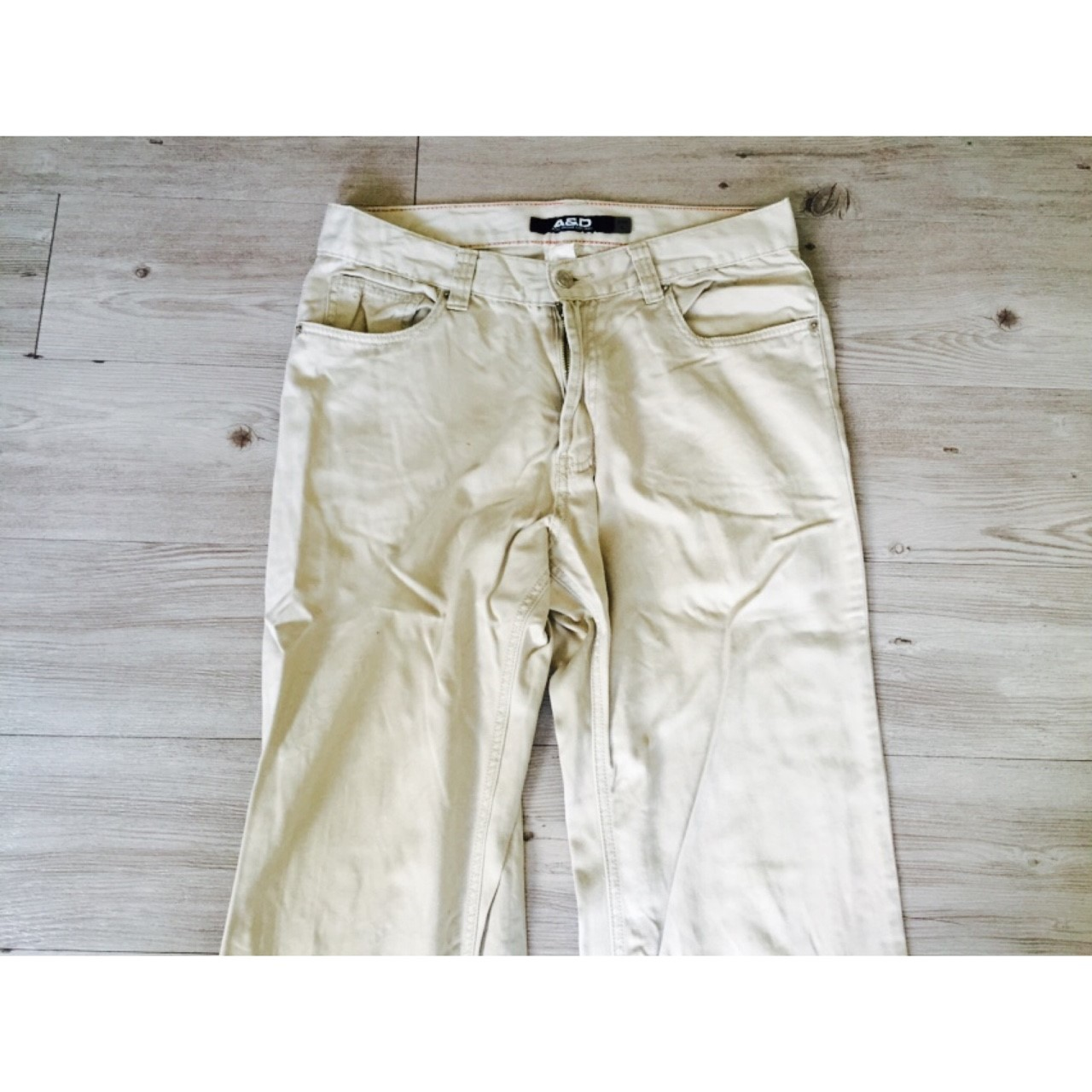 (A&D)米色長褲