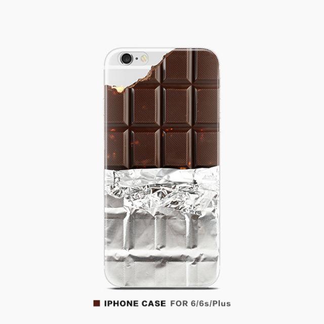 原創趣味模擬巧克力手機殼