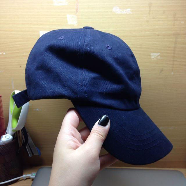 暫保留~藏青色老帽