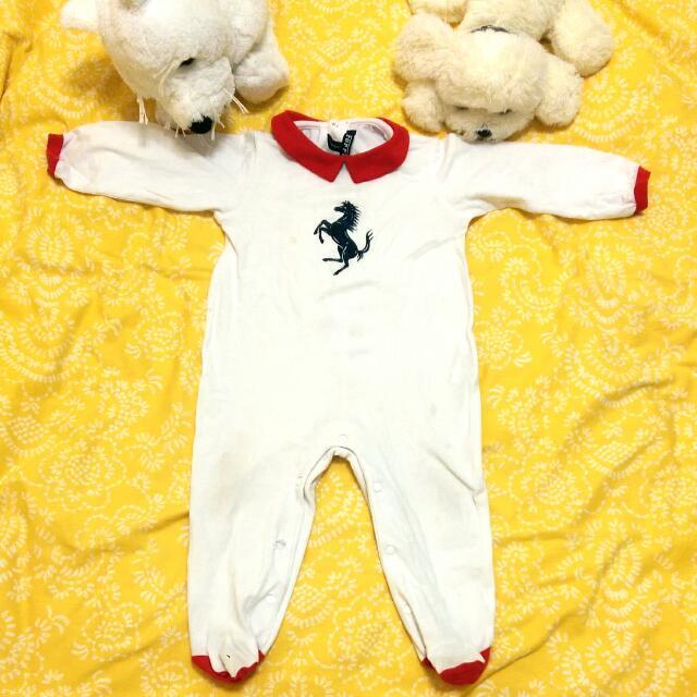 法拉利寶寶連身衣
