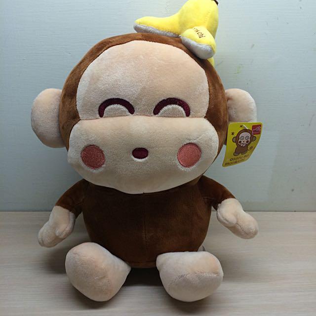 全新 三麗鷗猴子娃娃