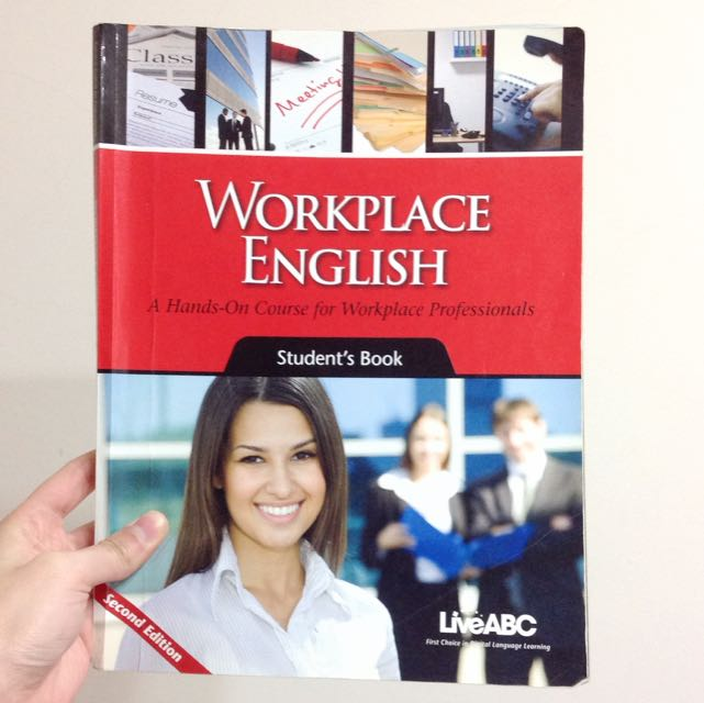 醒吾科技大學 五專部 應英系 商業英文 課本 Working English ( Live ABC) Second Edition 2版