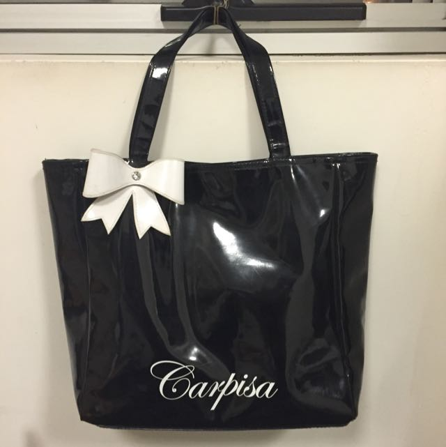 Carpisa Black Tote Bag
