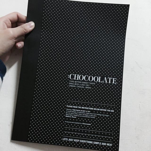 Chocoolate 點點 筆記本