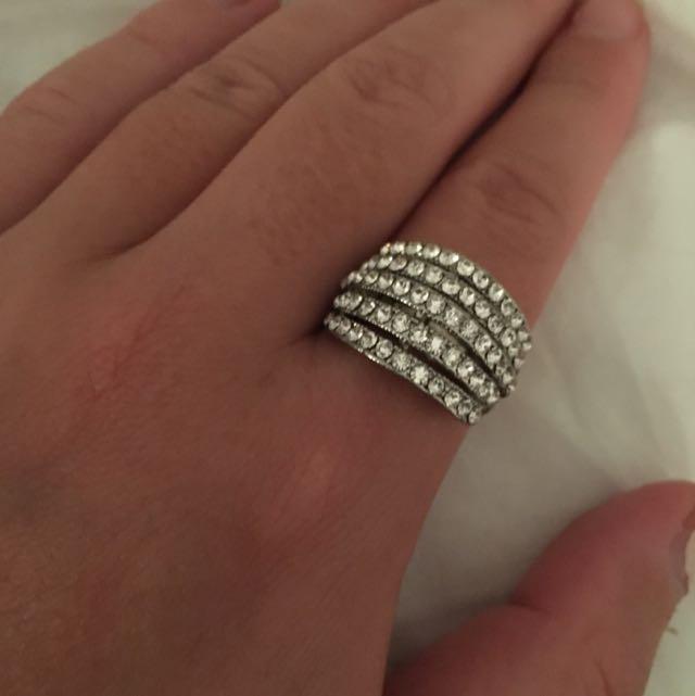 Diamonte Ring