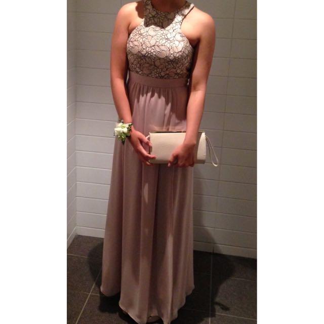 High Neck Formal Dress