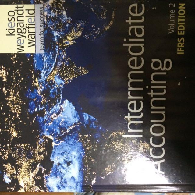 中等會計上下兩冊(Intermediate Accounting)