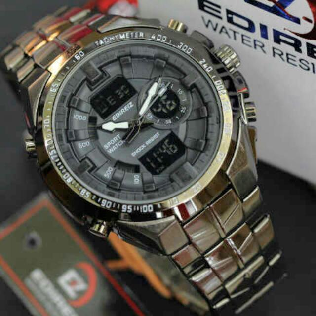 JAM TANGAN EDIREIZ SPORT WATCH original anti air