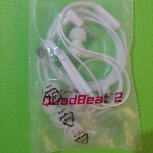 LG Quadbeats 2 Earphones