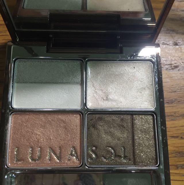 (保留)Lunasol 眼影