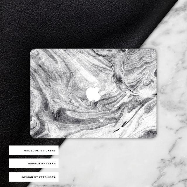 原創意黑白大理石MacBook紋貼膜貼
