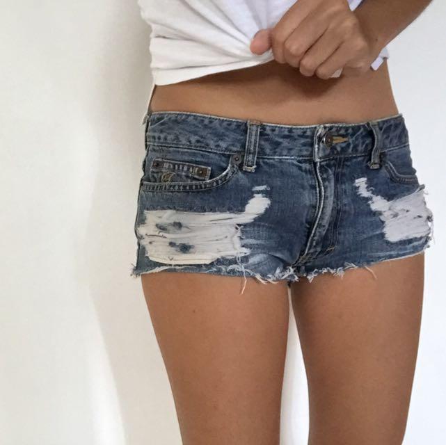 Maru Denim Shorts