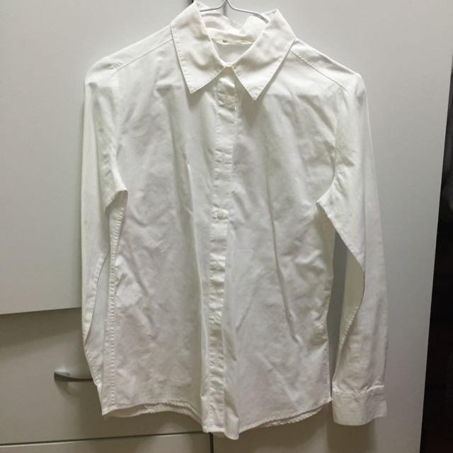 NET 白襯衫