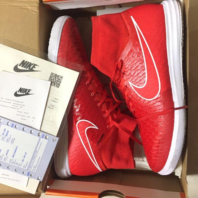 Nike Magista US9.5 高筒大紅球鞋