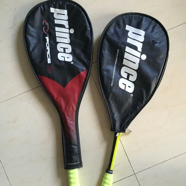 Pair Of Squash rackets