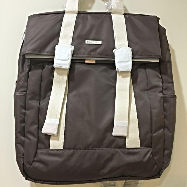 Porter 後背包 全新便宜賣 開學季 淺咖啡色 6折售出