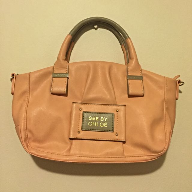 See By Chloe Tote (Salmon Colour)