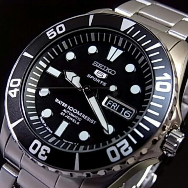 d81c51be4 Seiko 5 Sport Automatic 100m Dive Watch SNZF17J1 (Made In Jpn ...