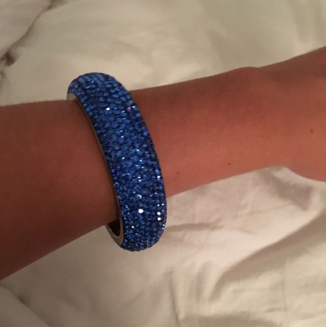Swarovski Blue Bangle