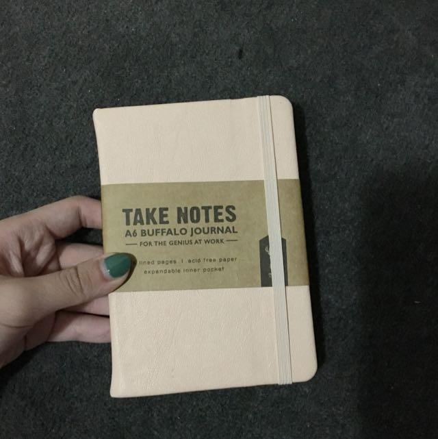 Typo Note Book (cream) (small)
