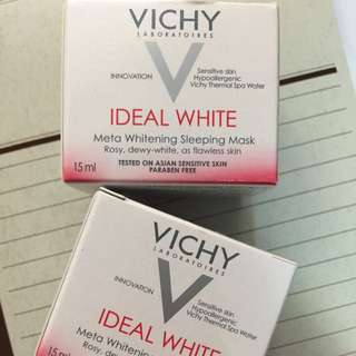 薇姿Vichy 淨膚透白密集修護水面膜 15ml