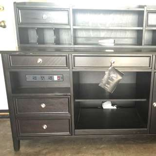 Brand New Huge Executive Desk With Hutch