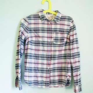 Womens Levis Checker Shirt Size Xs