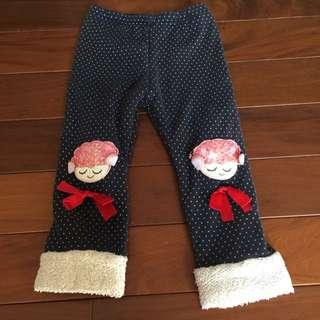 二手兒童刷毛褲(7)