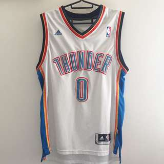 NBA Russell Westbrook Thunder 0號 Adidas 球衣
