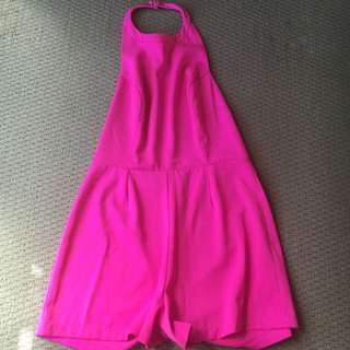 Bright Pink Play suit