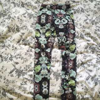 H&M Floral Leggings