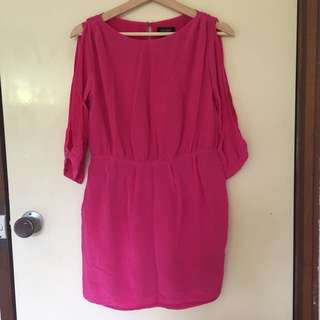 Oxford Hot Pink Cocktail Dress