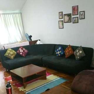 Air Division L-Shape Sofa For 100