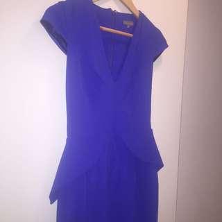Size 8 Sheike Blue Dress