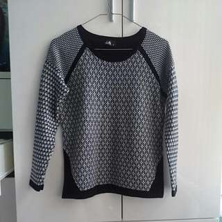 Dotti Patterned Sweater Top