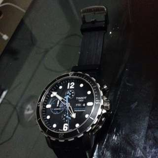 Tissot Seastar Profesional Diver's Limited Edition0610 /1000pcs.automatic.Helium Valve 300m-ISO 6425.