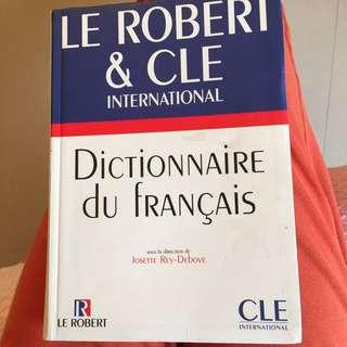 Dictionnaire Du Francais/法法字典