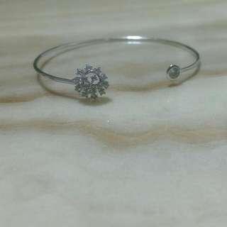 雪花銀製手環