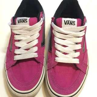 VANS 紫色板鞋
